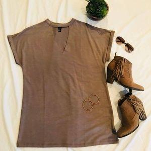 Dresses & Skirts - NWOT- T-Shirt Mini Dress- Size Small